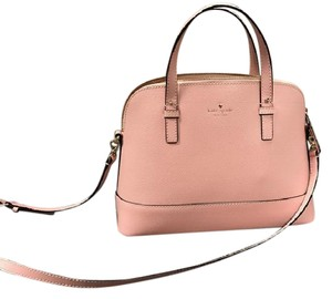 Kate Spade Leather Satchel in Light Pink