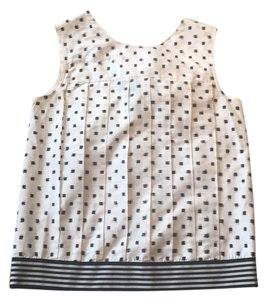 Tocca Top white and black