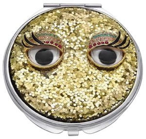 Betsey Johnson Betsey Johnson xox Troll Glitter Compact Mirror