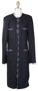 Chanel Duster Lace Multicolor Coat