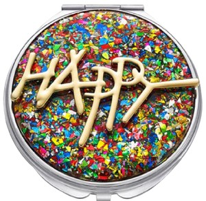 Betsey Johnson Betsey Johnson xox Troll Happy Compact Mirror