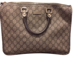 Gucci Satchel in Pewter silver/grey