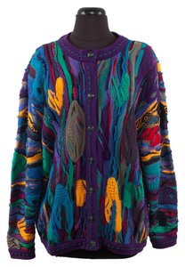 Coogi Cotton Knit Cardigan