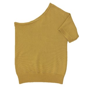 MICHAEL Michael Kors One Knit Gold Spring Summer Sweater