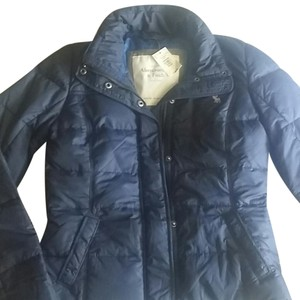 Abercrombie & Fitch Down Feathers Winter Thermal Motorcycle Jacket