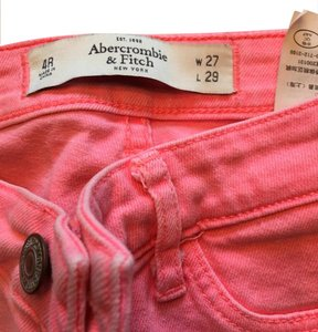 Abercrombie & Fitch Coral Washed Skinny Jeans-Light Wash