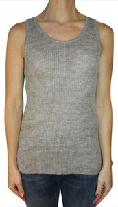Ayni Alpaca Silk Ribbed Top Grey