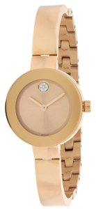 Movado Movado Bold Rose Gold-Tone Ladies Watch 3600286