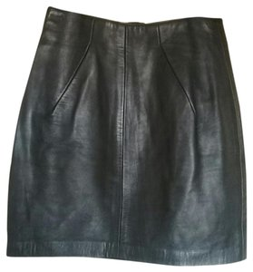 North Beach Leather Skirt