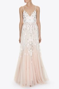 Needle & Thread Trailing Tiered Gown Wedding Dress