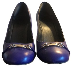 Gucci Blue / Silver Detail Pumps