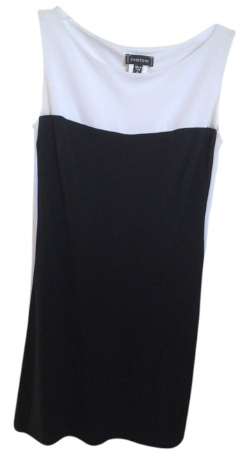 BeBe short dress Black & White on Tradesy