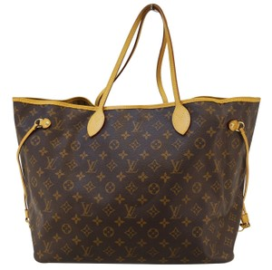 Louis Vuitton Lv Neverfull Gm Monogram Shoulder Bag