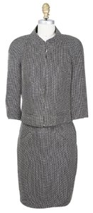 Chanel Grey Dress and Jacket Suit