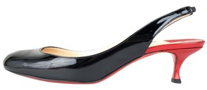 Christian Louboutin black & red Pumps