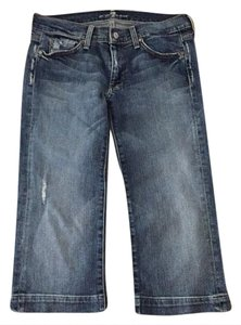 7 For All Mankind Capri/Cropped Denim-Distressed