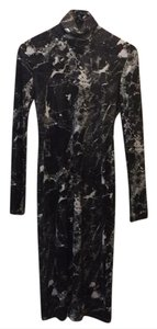 Norma Kamali short dress marble on Tradesy