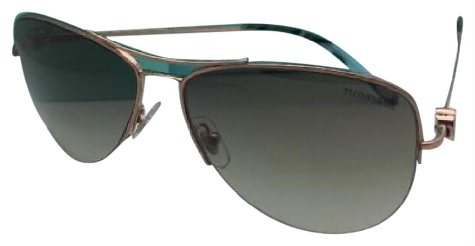 c96d76e9890 Tiffany   Co. Tf 3021 6105 3m Bronze Copper Aviator W  Green ...