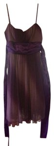 Ruby Rox short dress Purple Glitter Short Prom Silk on Tradesy