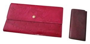 Louis Vuitton Louis Vuitton Vernis Wallet & key holder SEE REMARKS