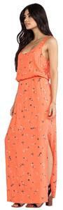 Orange Maxi Dress by Splendid Maxi Floral