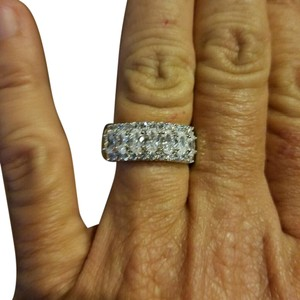 Others Follow .925 sterling silver diamondique band NEW