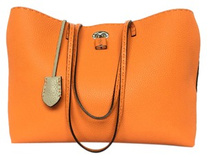 Fendi Salleria Tote in Orange