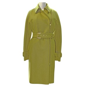 J.Crew Trench Wool Belted Zip Trench Coat