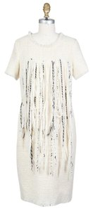 Chanel Tweed Fringe Dress
