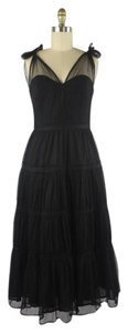 Odille Anthropologie Tulle Cocktail Formal Dress
