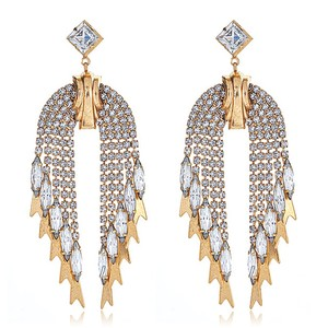 Elizabeth Cole Elizabeth Cole Roaring 20's inspired Statement Earrings