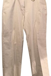 Basic Editions Straight Pants beige