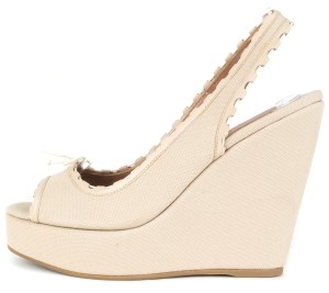 ALAÏA tan Wedges