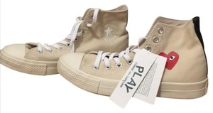 COMME des GARONS Creme and white Athletic