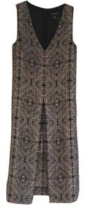 Black and Tan print Maxi Dress by Club Monaco
