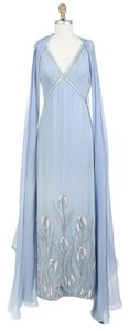 Chanel Ice Chiffon Beaded Gown Dress
