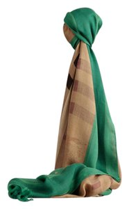 Burberry Haymarket Check Modal & Cashmere Scarf