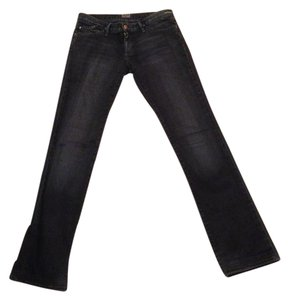 Goldsign Straight Leg Jeans-Dark Rinse