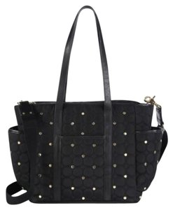 Rebecca Minkoff Studded Cross Body Diaper Quilted Baby Shoulder Bag