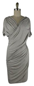 Donna Karan Stretch Ruched Bodycon Dress