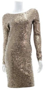 Moda International Sequin Sequin Sequined Evening Dress