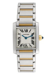 Cartier Excellent Small Model Tank Francaise Watch, 20mm