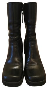 Tommy Hilfiger Leather Designer Black Boots