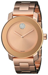 Movado Movado Bold Rose Gold Unisex Watch 3600086