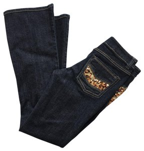 Cache Boot Cut Jeans-Dark Rinse