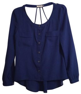 Blu Pepper Top royal blue