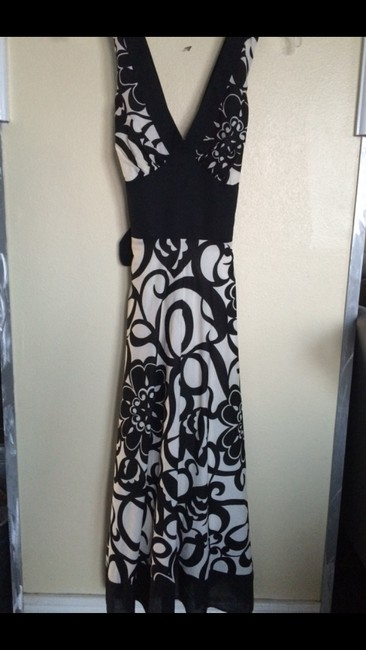 Black & white Maxi Dress by Sandra Darren