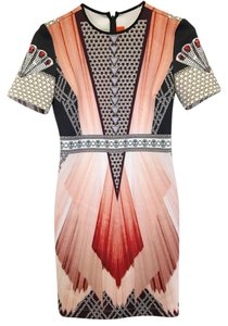 Clover Canyon Tetris Geometic Strapless Drawstring Summer Dress
