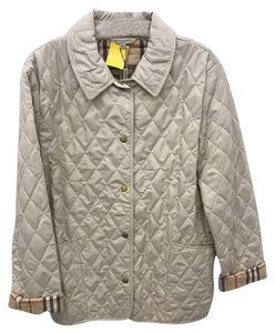 Burberry Quilted Raincoat