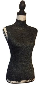 by Luby Sexy Unique Classic Stylist Top Black/Silver